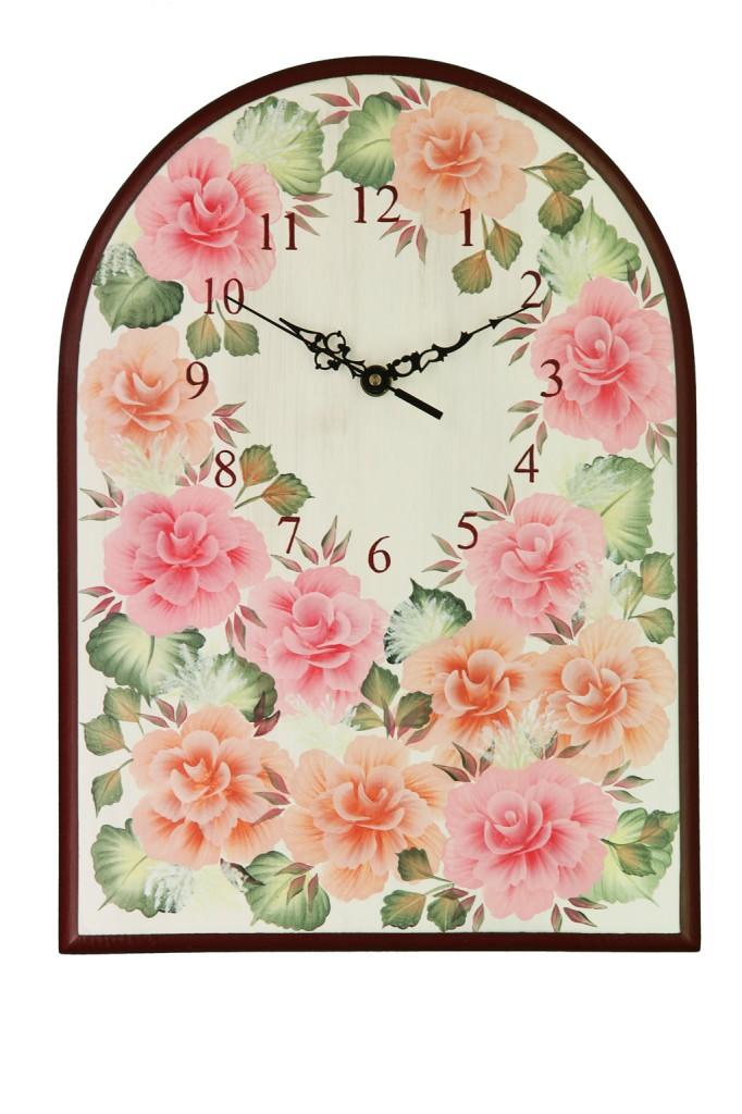 Agnese, orologio in legno da parete