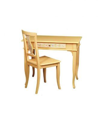 set scrivania con sedia