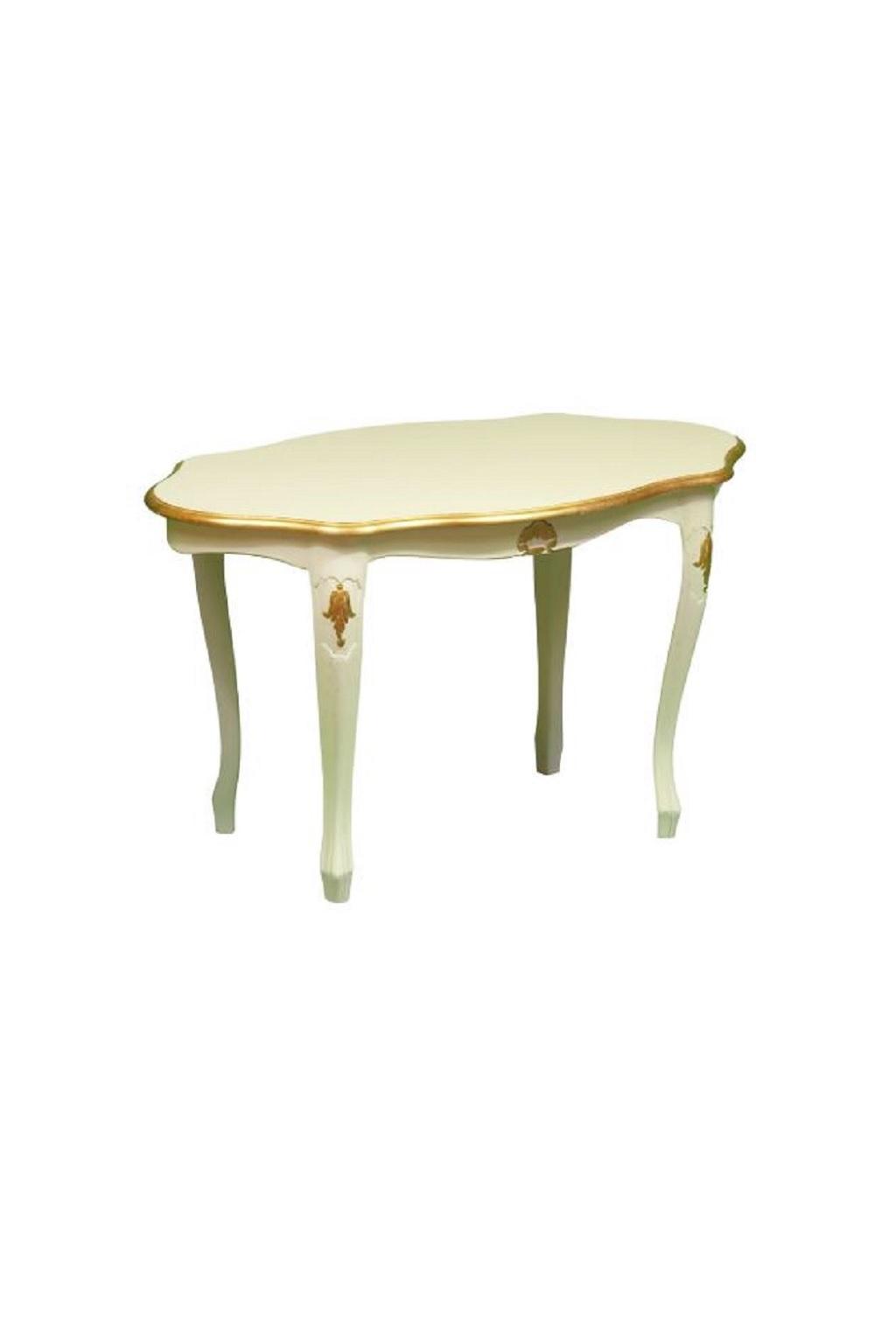 Tavolini Da Salotto Classici Foglia Oro.Tavolino Da Salotto In Arielle