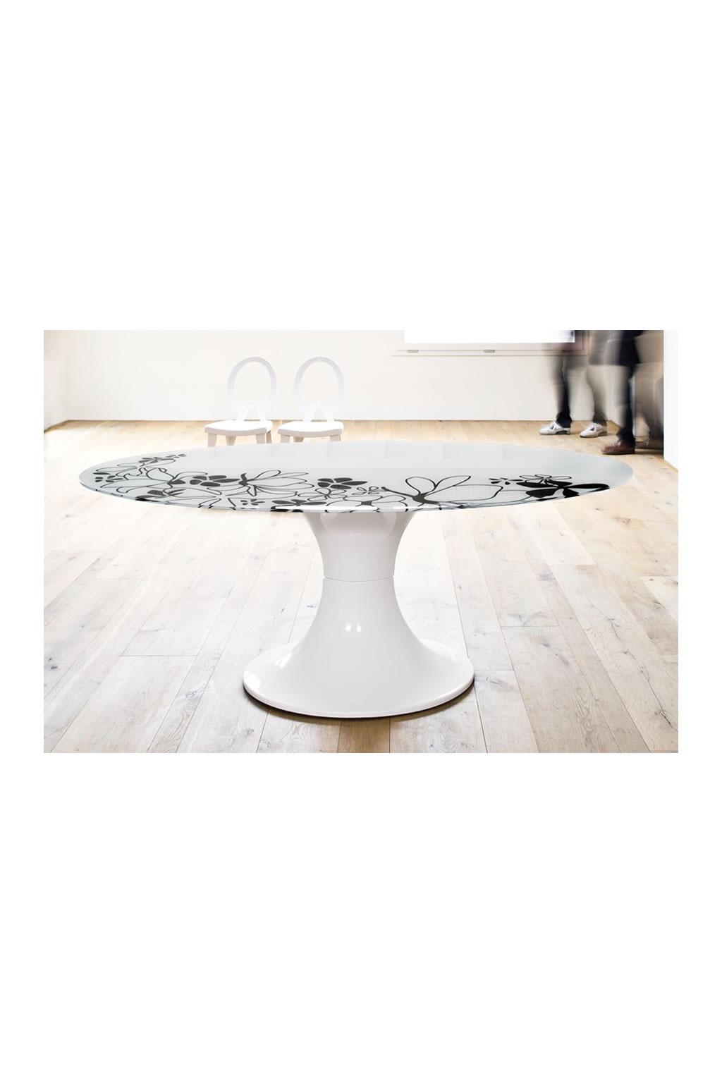 Tavolo ovale moderno \