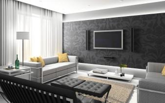 Un moderno appartamento