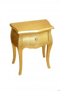 comodino in foglia d'oro tiffany