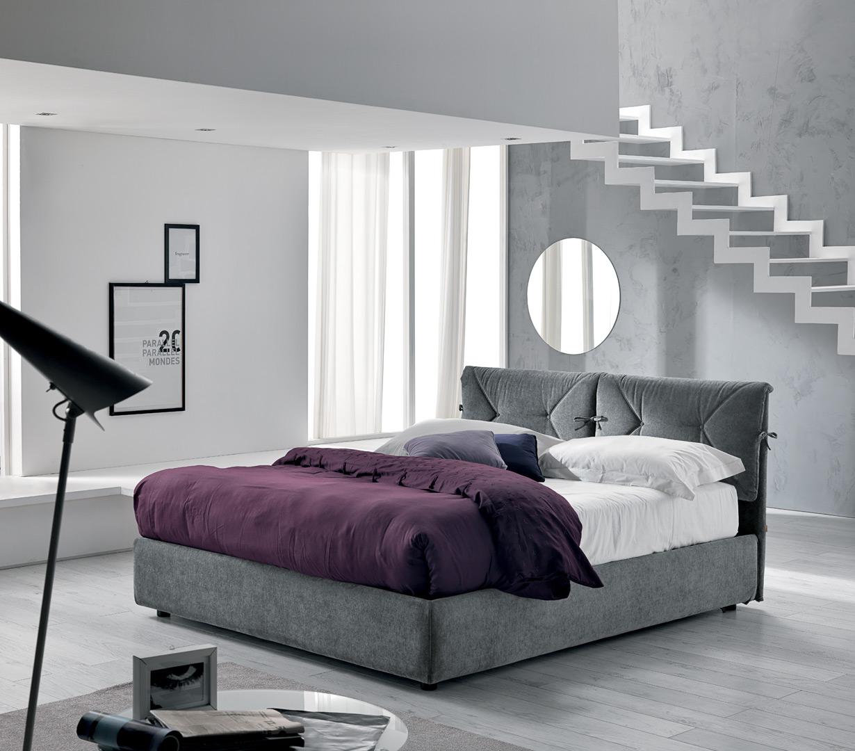 letto contenitore alba