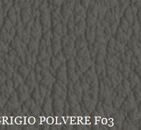 PELLE GRIGIO POLVERE F03