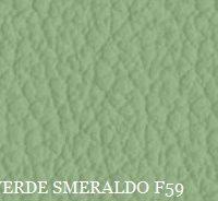 PELLE VERDE SMERALDO F59
