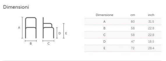 danny P dimensioni