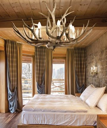 lampadario chalet room