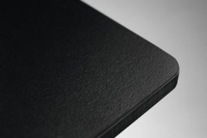 piano HPL nero bordo nero