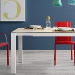 tavolo badù L bianco