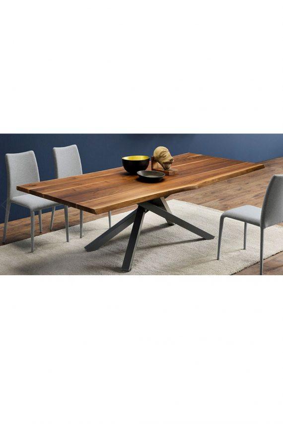 tavolo pechino massello di noce