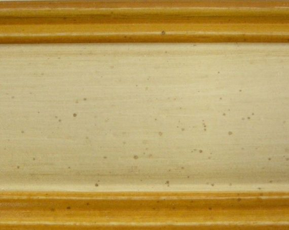 avorio anticato bordo ocra