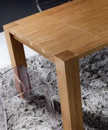 tavolo massive rovere naturale
