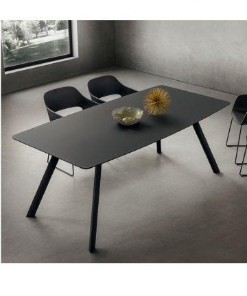tavolo nicky total black canvas