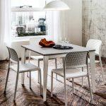 tavolo quadrato CASPER allungabile canvas