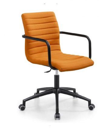 sedia imbottitita da scrivania con braccioli Astra