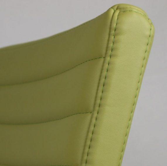 sedia moderna imbottita Vega zoom green
