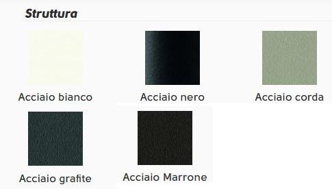 5 colori struttura acciaio