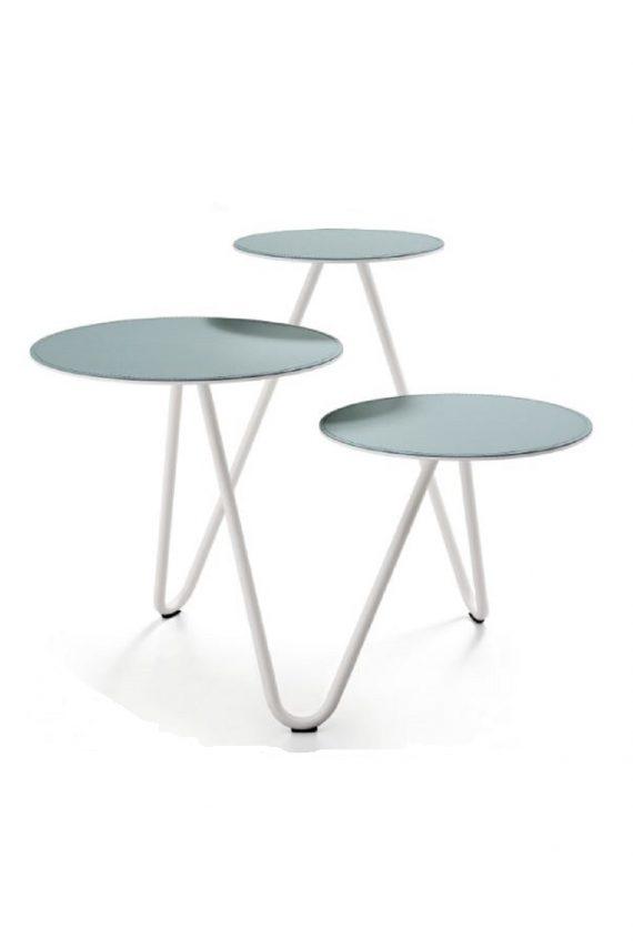 Tris tavolini moderni Aryel