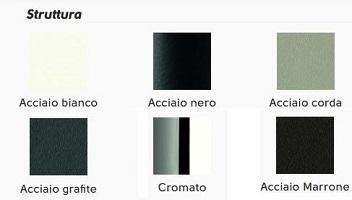 colori struttura acciaio