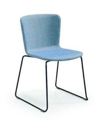 nevada sedia moderna in tessuto