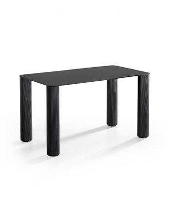 perseo L tavolino rettangolare in acciaio