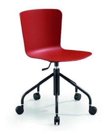 tabita sedia da scrivania girevole con ruote