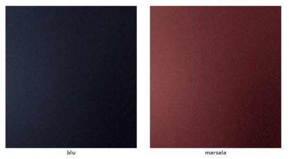 colore metallo blu marsala