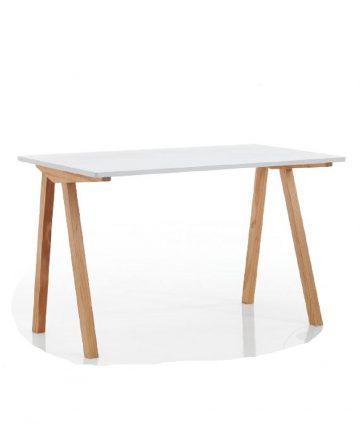 egon scrivania semplice in legno