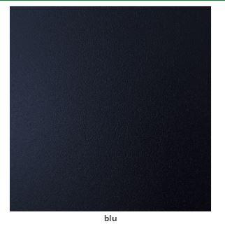 metallo blu