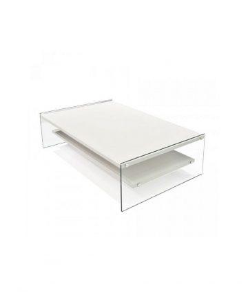 Big London tavolino rettangolare bianco