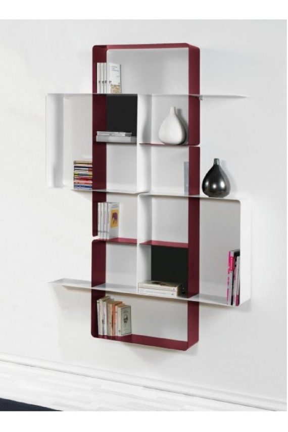 Domino libreria a parete