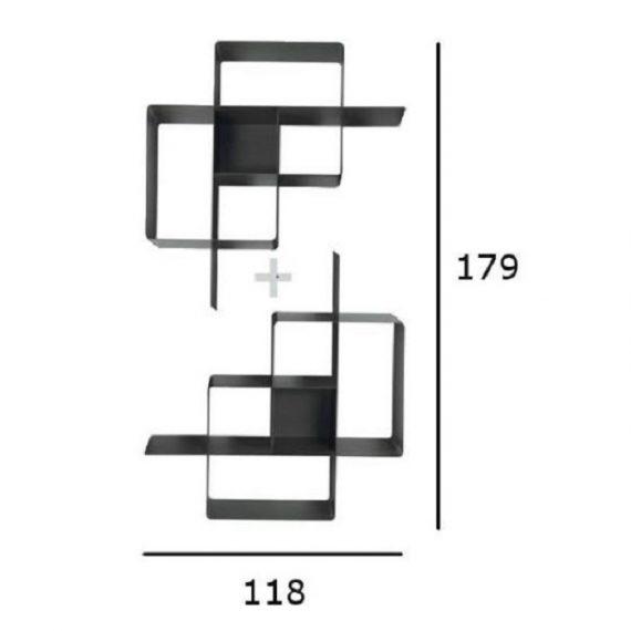 Domino libreria composizione