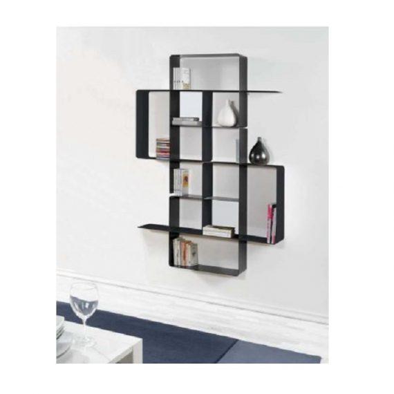 Domino libreria grigio