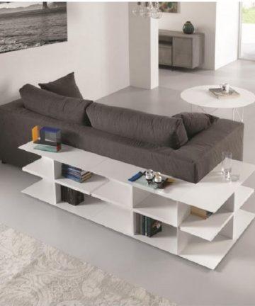 Miny libreria tavolino componibile angolo divano