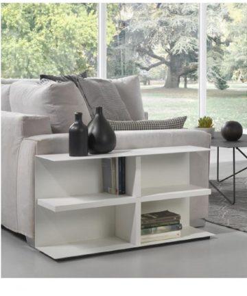 Miny libreria tavolino componibile bianco