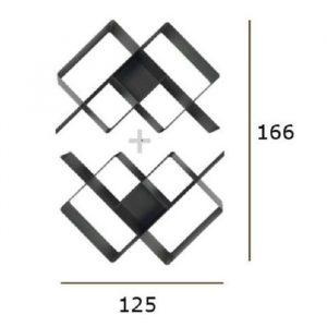 Rombus libreria composizione