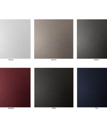 Sei colori acciaio
