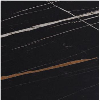 Vetro acidato retro decorato sahara nero