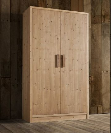 Cervino armadio 2 ante in legno