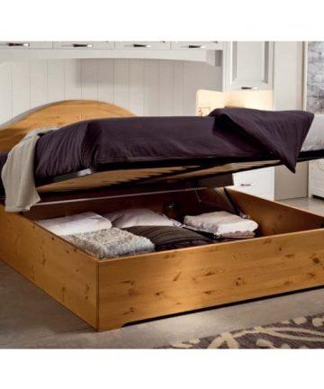 Altea letto matrimoniale con contenitore open
