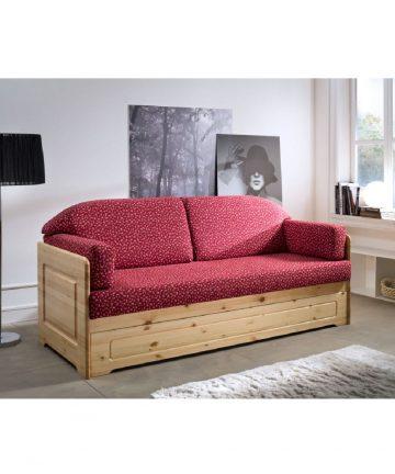 Dalia divano letto in legno