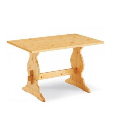 Dolomite tavolo in legno fisso tirolese