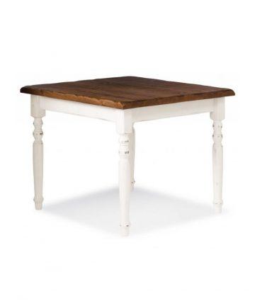 Semilla tavolo shabby quadrato