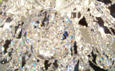 lampadario in cristallo