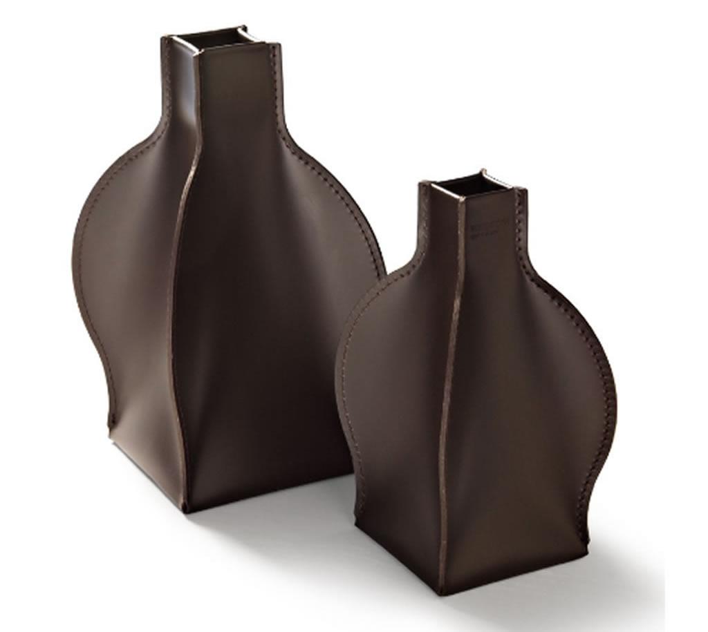 """Vaso decorativo in cuoio """"Daci"""""""